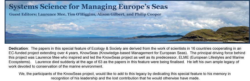 Systems Science for Managing Europe's Seas