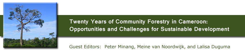 Twenty Years of Community Forestry in Cameroon: Opportunities and Challenges for Sustainable Development