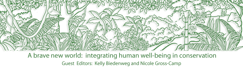 A brave new world: integrating human well-being in conservation