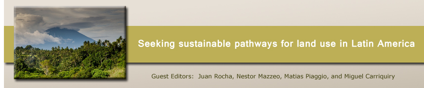 Seeking sustainable pathways for land use in Latin America