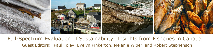 Full-Spectrum Evaluation of Sustainability: Insights from Fisheries in Canada
