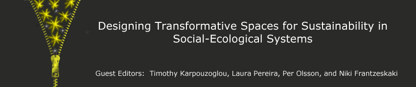 Designing Transformative spaces for sustainability in social-ecological systems