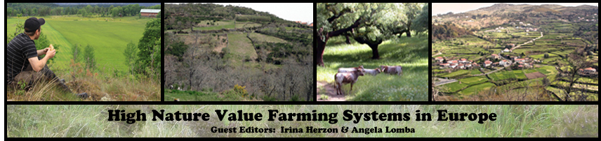 High Nature Value Farming Systems in Europe