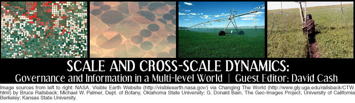 Scale and Cross-scale Dynamics