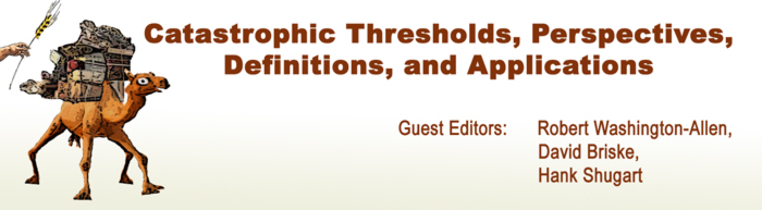 Catastrophic Thresholds, Perspectives, Definitions, and Applications
