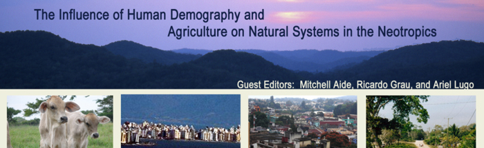 The influence of human demography and agriculture on natural systems in the Neotropics