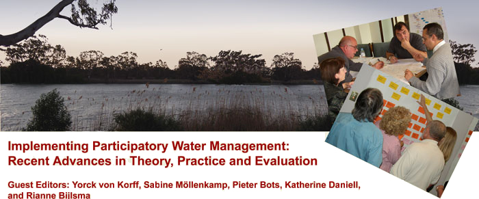 Implementing Participatory Water Management: Recent Advances in Theory, Practice and Evaluation