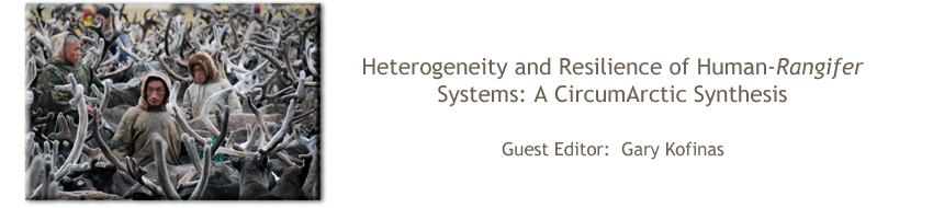 Heterogeneity and Resilience of Human-<i>Rangifer</i> Systems: A CircumArctic Synthesis
