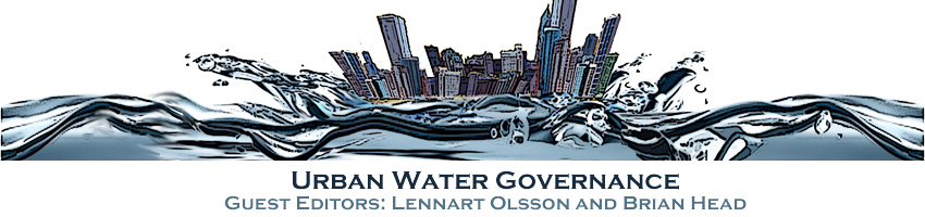 Urban Water Governance