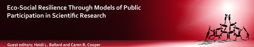 Eco-Social Resilience Through Models of Public Participation in Scientific Research