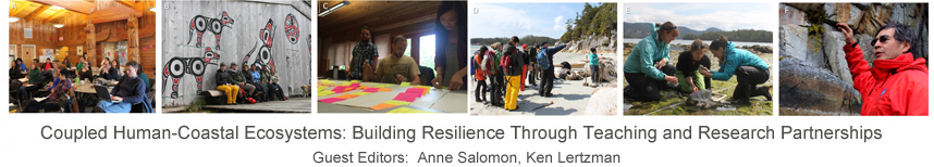 Coupled Human-Coastal Ecosystems: Building Resilience through Teaching and Research Partnerships