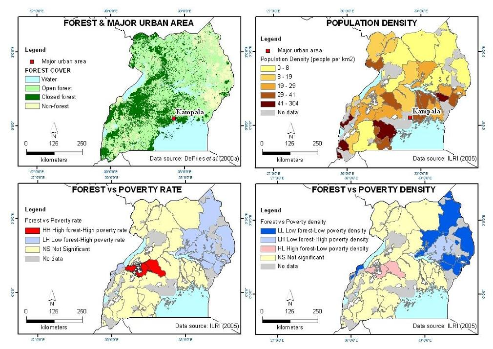 Ecology And Society Why Forests Are Important For Global Poverty - Global poverty map