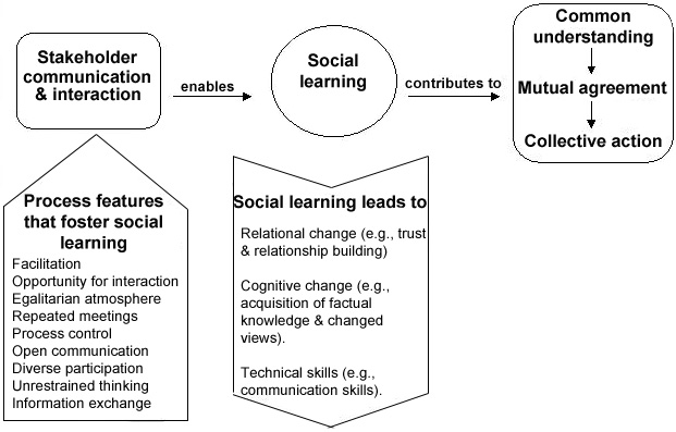 Social learning knowledge acquisition in a