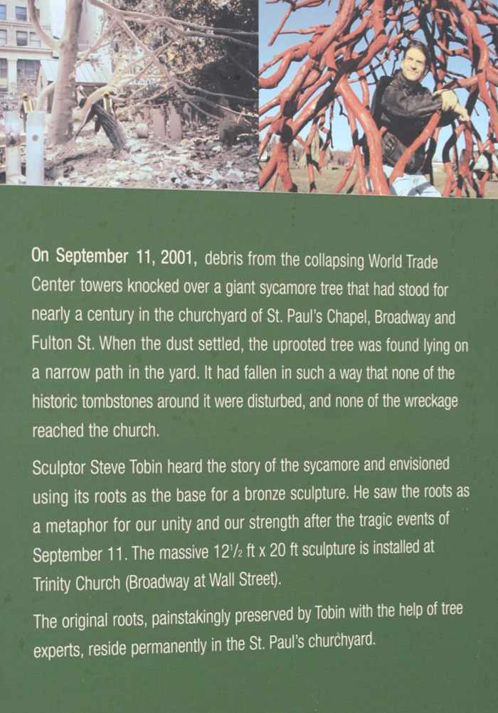 Fig 1 Interpretive Sign Near Ground Zero Serves As Example Of
