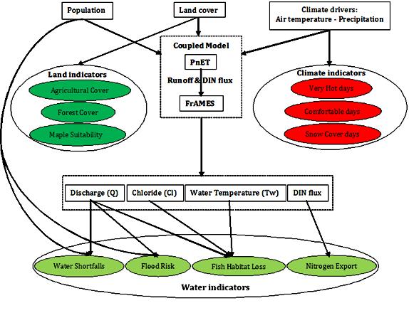 Fig 2 Conceptual Diagram Of The Terrestrial And Aquatic Ecosystem
