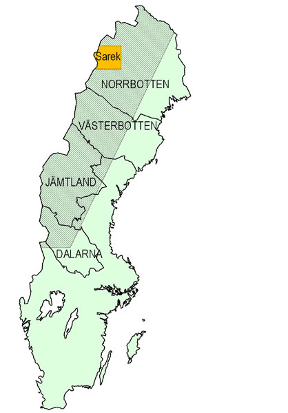 Ecology And Society Potential Effects Of Climate Change On - Sweden vegetation map